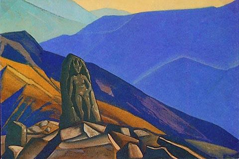 Н.К. Рерих. Обитель духа. 1932 или 1933 г.